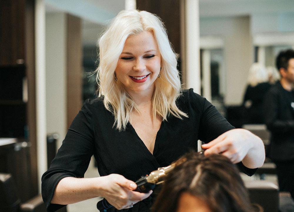 Kelsey Triebes / Hair stylist