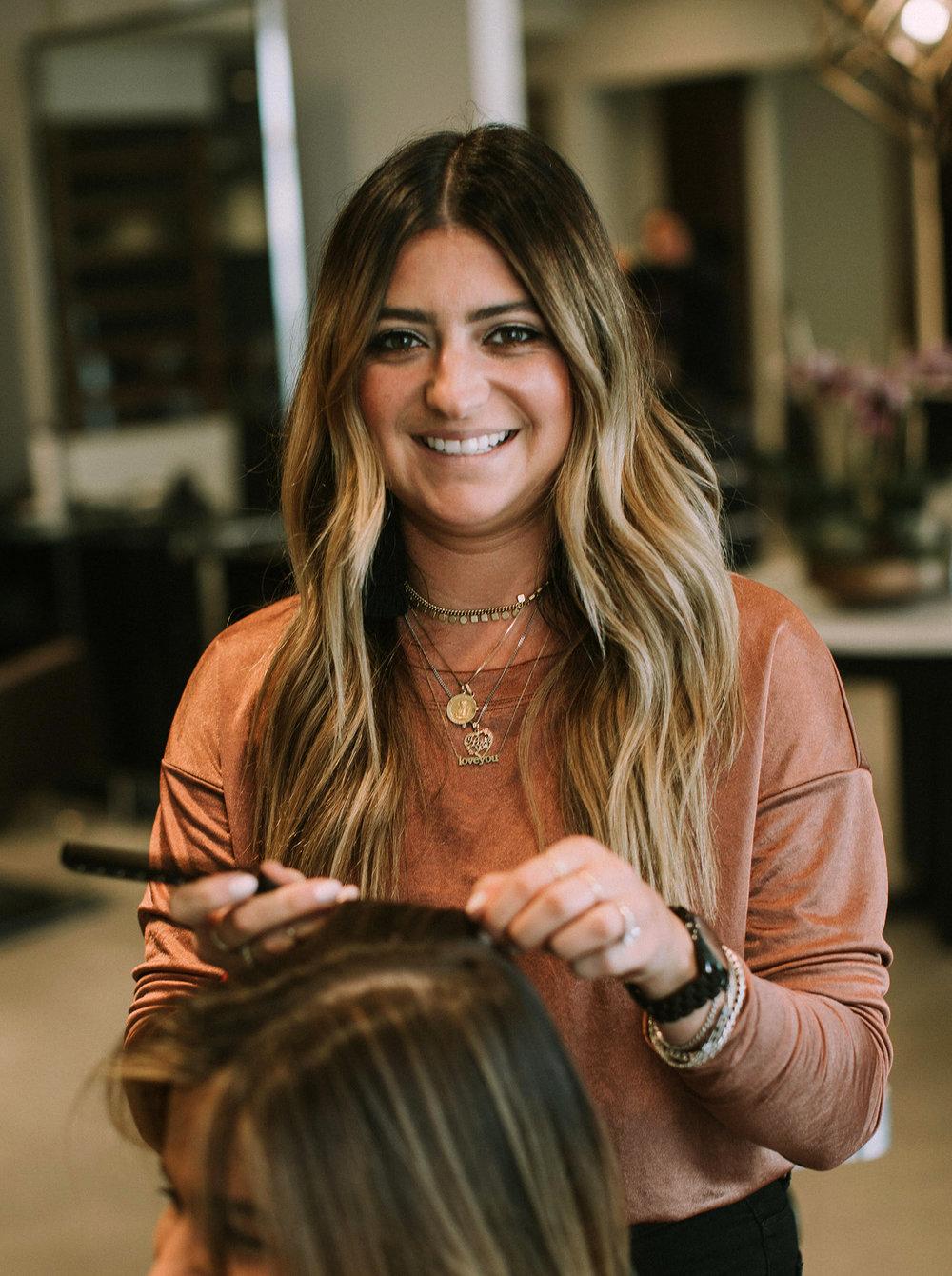 Natalie Salvo / Hair colorist