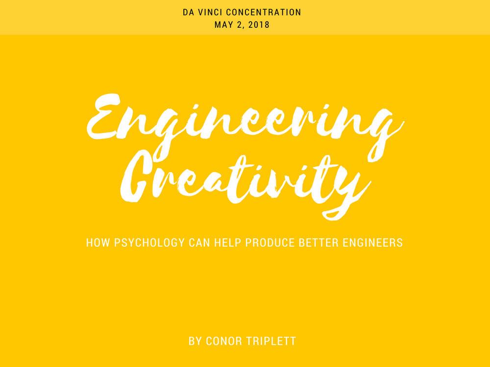 Engineering Creativity Presentation