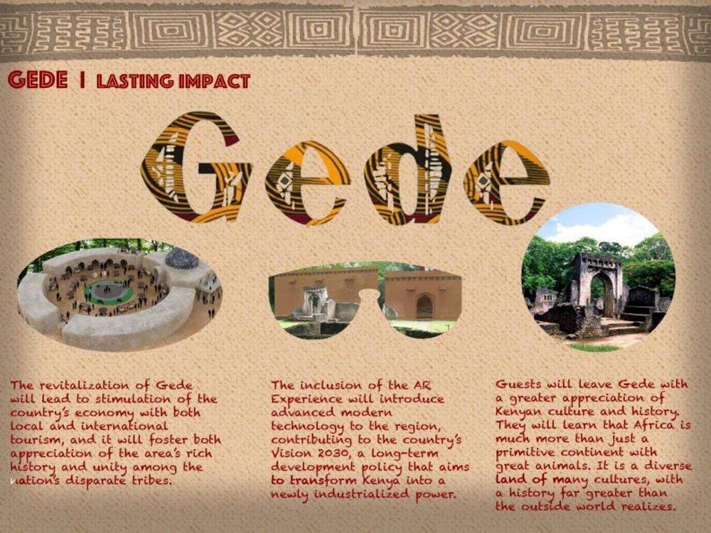 Ruins of Gede AR Experience Concept