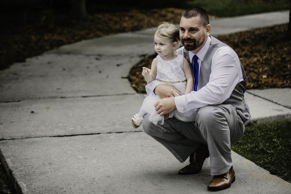 father and daughter, flower girl, wedding day, wedding, groom, WV groom, MD groom, MD wedding, Deep Creek wedding, Deep Creek MD, Wisp Resort