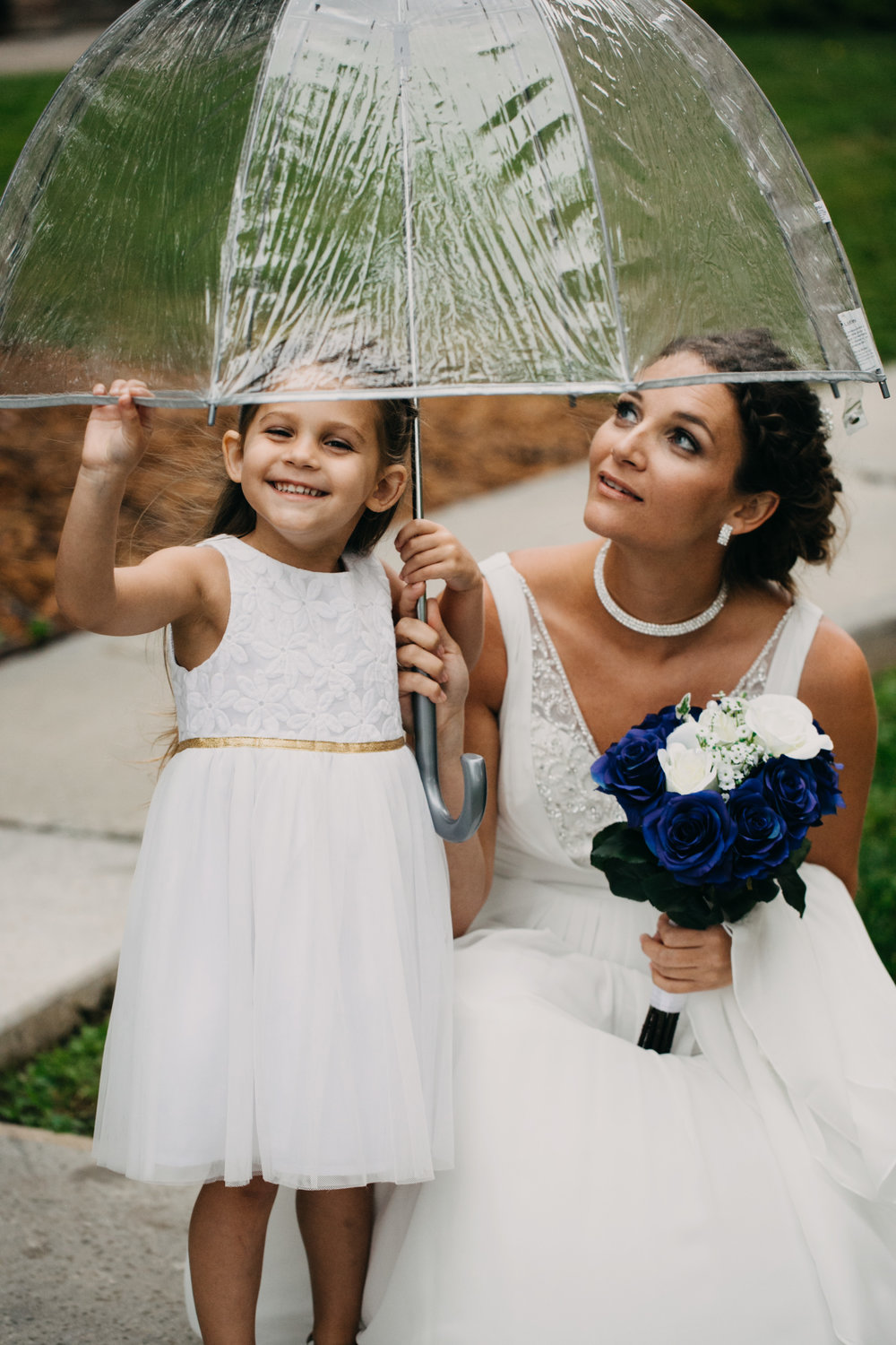 mother and daughter, flower girl, wedding day, wedding dress, bride, WV bride, MD bride, MD wedding, Deep Creek wedding, Deep Creek MD, Wisp Resort