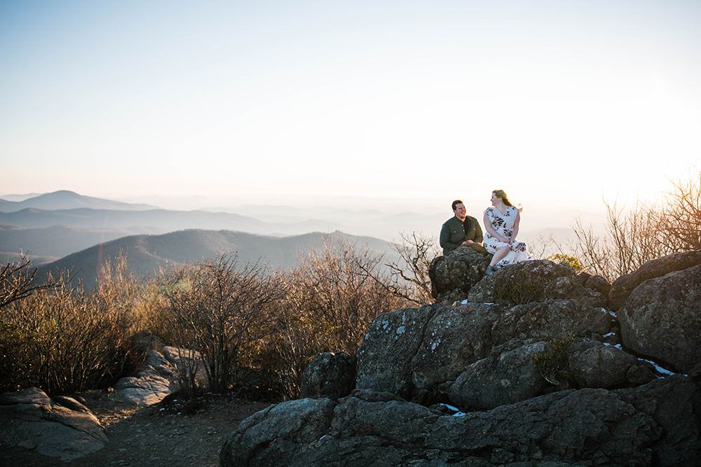 A blog post about couples adventure photography in Shenandoah National Park, Virginia and West Virginia. We talk about couple's hiking sessions, and why I focus on unposed/candid lifestyle photography.