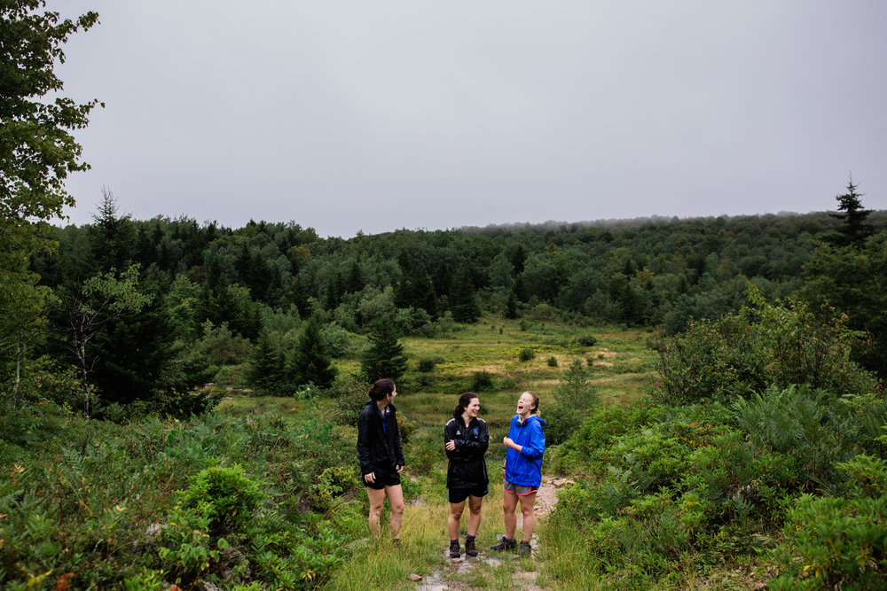 Hiking in Dolly Sods West Virginia, West Virginia adventure photographer, Dolly Sods adventures, rainy day adventures, rainy hike. A rainy backpacking trip at Dolly Sods, WV