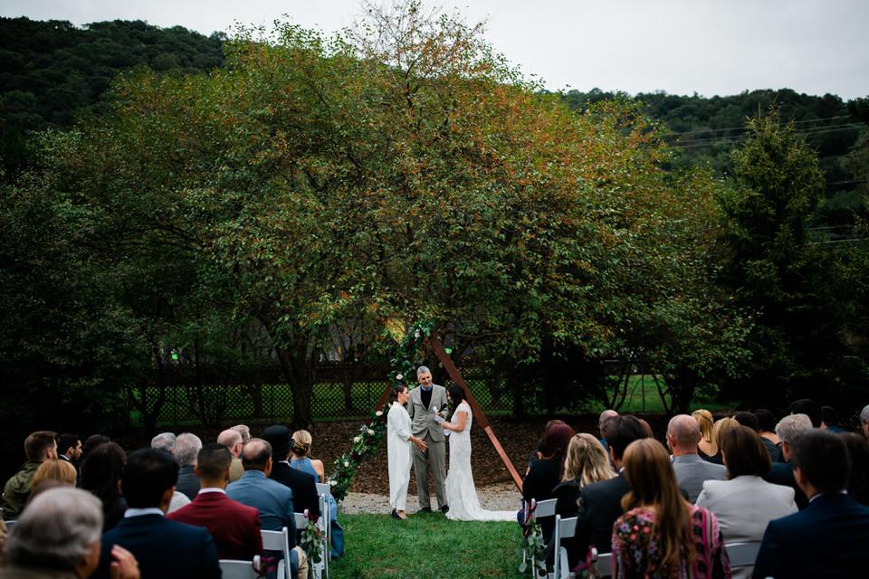 WV Outdoor Wedding -