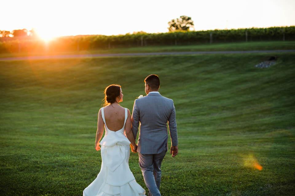 Crosskeys Vineyard Wedding Photographer