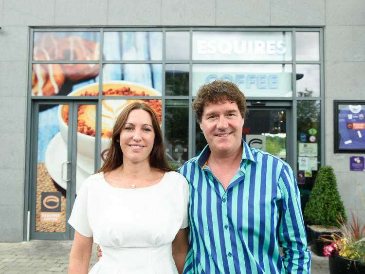 Rhona O'Sullivan and Fergal McGovern, franchise owners of Esquires Coffee, Carrick-on-Shannon.