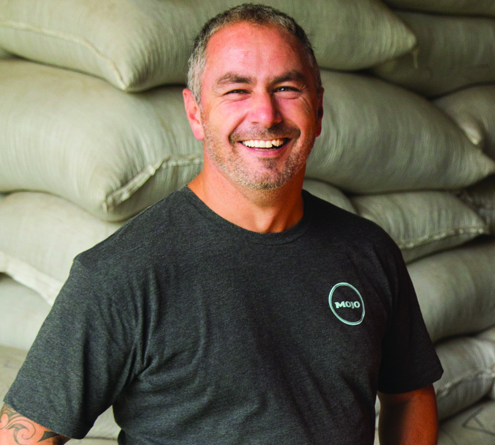 Steve Gianoutsos, co-founder of Mojo coffee and now based in Chicago.