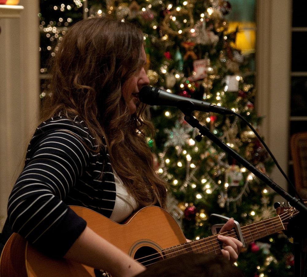 Amy Cox First House Concert Close Up.jpg