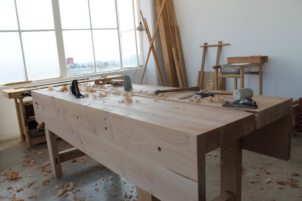 flattening the top-a chore best done when not tired