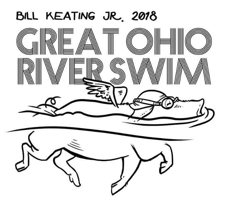 Bill Keating, Jr. Great Ohio River Swim