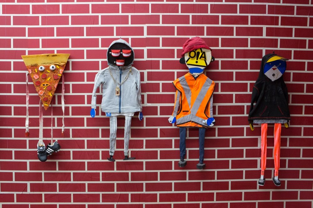 Puppets by Paul Insect and BAST