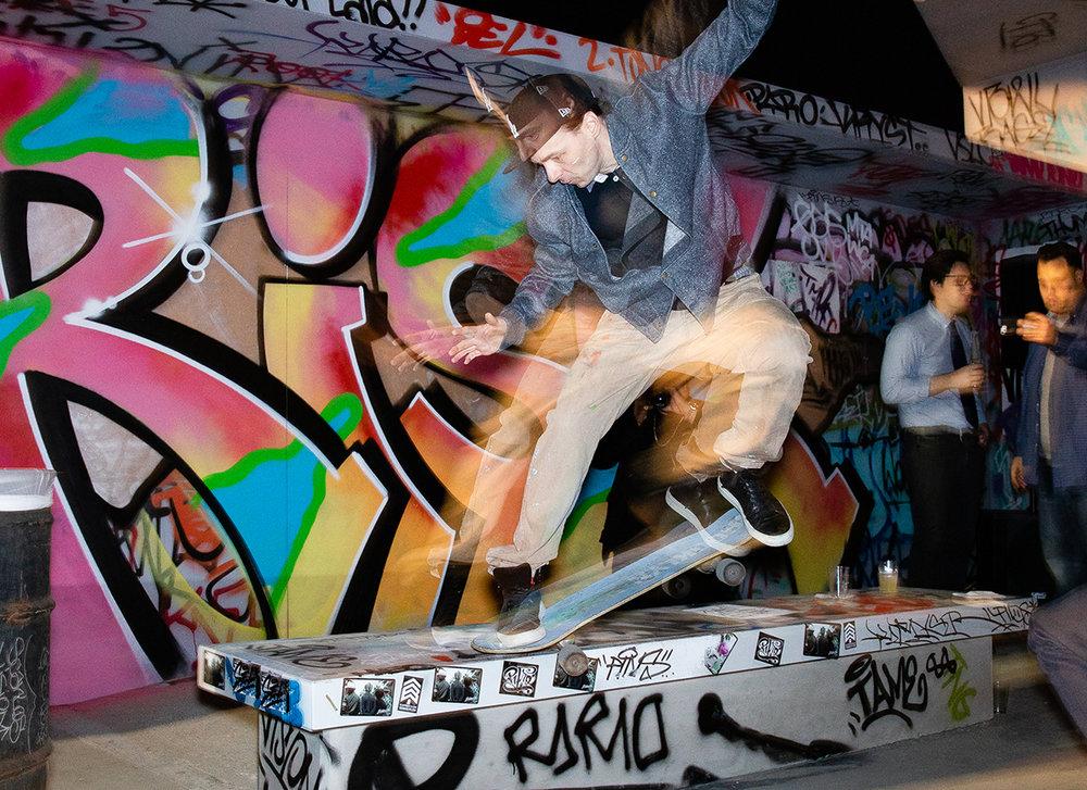 Venice Pavilion in partnership with adidas Skateboarding