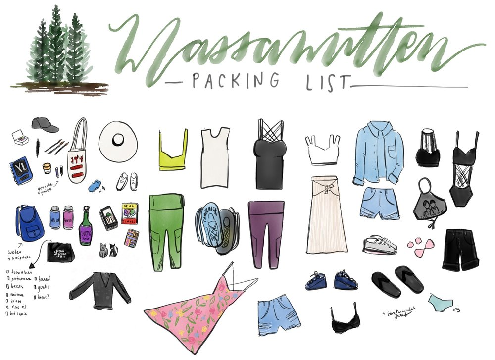 Desert 2 District Design II Massanutten Packing List