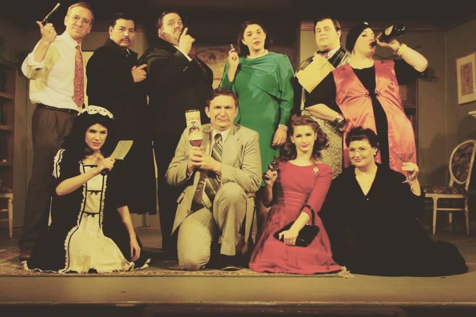 Ken De La Maize in The Musical Comedy Murders of 1940, Little Theatre Off Broadway, Spring 2016.