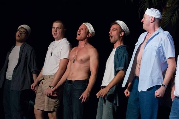 Lt. Buzz Adams in South Pacific, Pickerington Community Theater, Summer 2016.