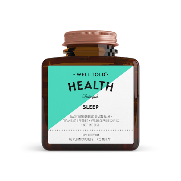 5.  Well Told Health Relaxation Booster