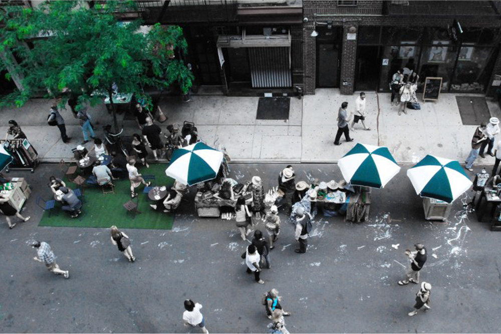 modular street market
