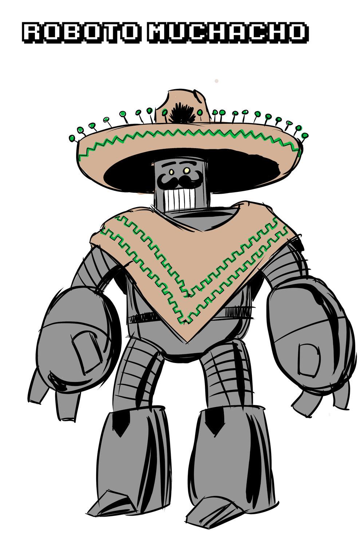 Roboto Muchacho