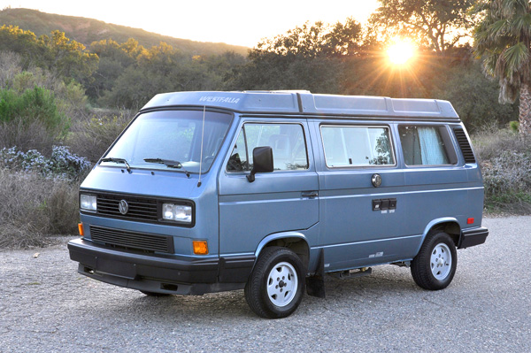Lupine - 1988 WestfaliaAll original van with only ~66K miles, 4 speed standard shift, all mechanicals have been replaced/restored, has the original (rebuilt) Vanagon engine.