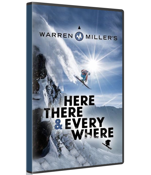 WARREN MILLER'S HERE, THERE AND EVERYWHERE (Physical Copy) -