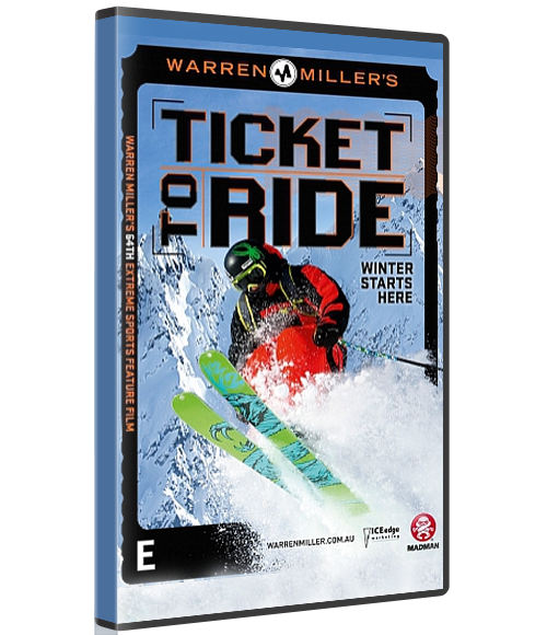 WARREN MILLER'S TICKET TO RIDE (Physical Copy) -