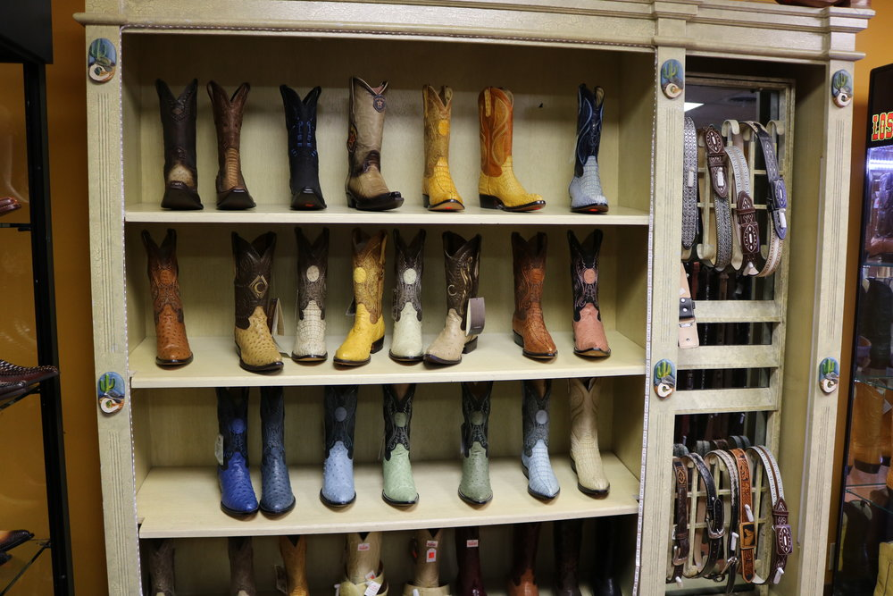 Boots for men.