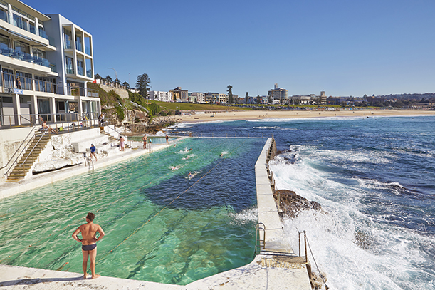 Icebergs in Bondi is one of the classic tourist hotspots