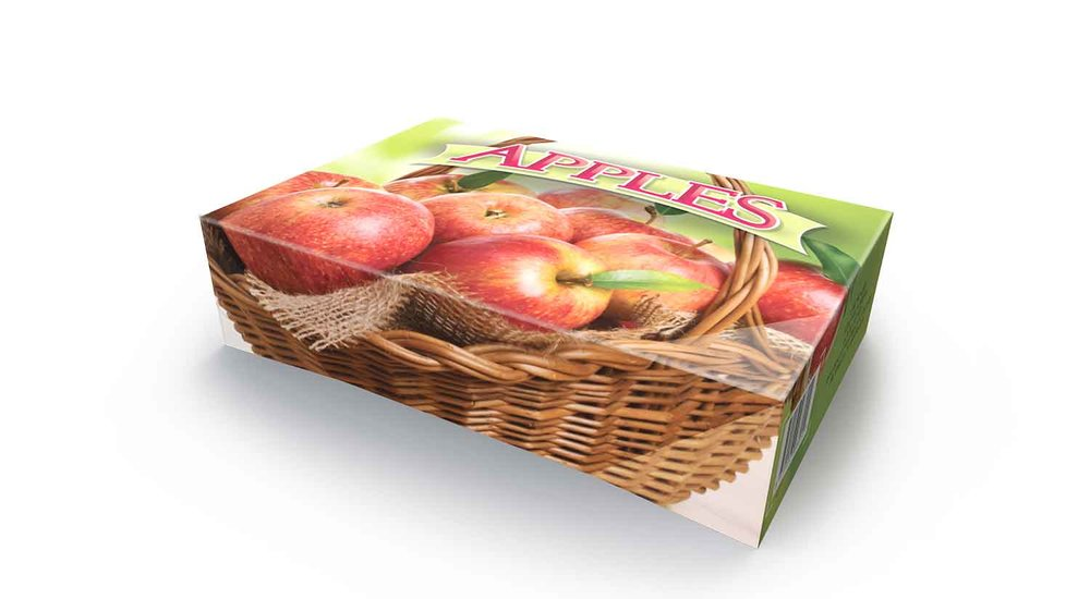 1-Piece Apple Box