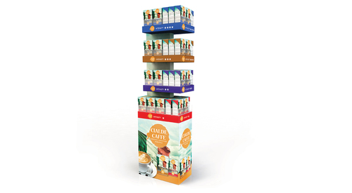 Specialised 4-Shelf Display