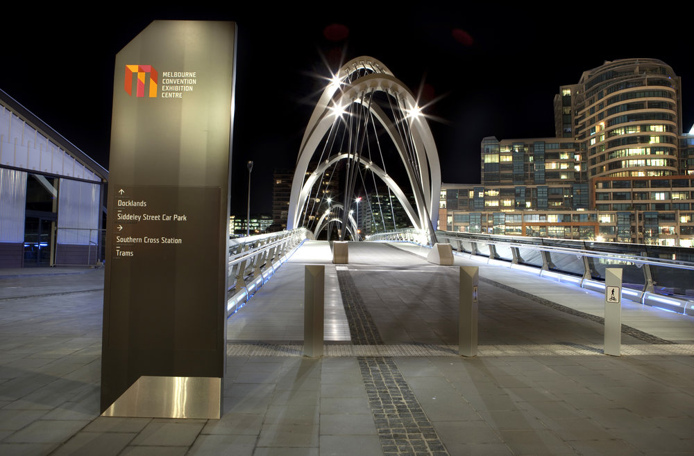 Bentleigh Group Australia Wayfinding signs MCEC