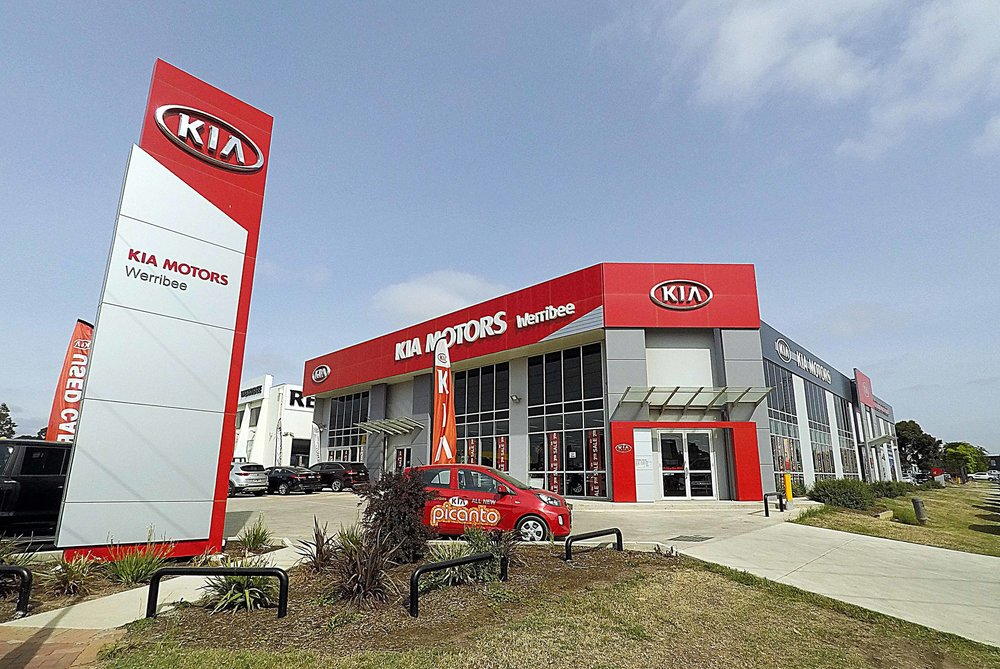 Bentleigh Group Australia Pylon signs Kia