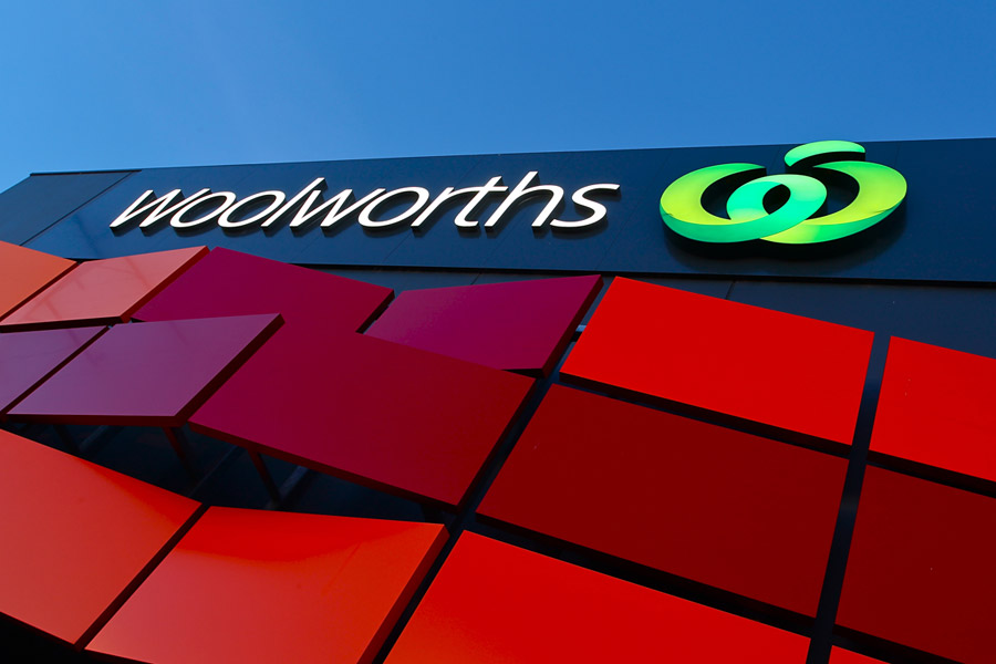 Bentleigh Group Australia high run signage Woolworths signs