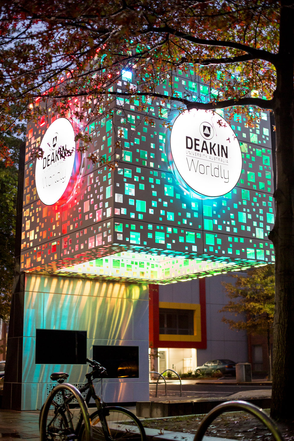 Bentleigh Group signs Deakin University signs  Education signs case study