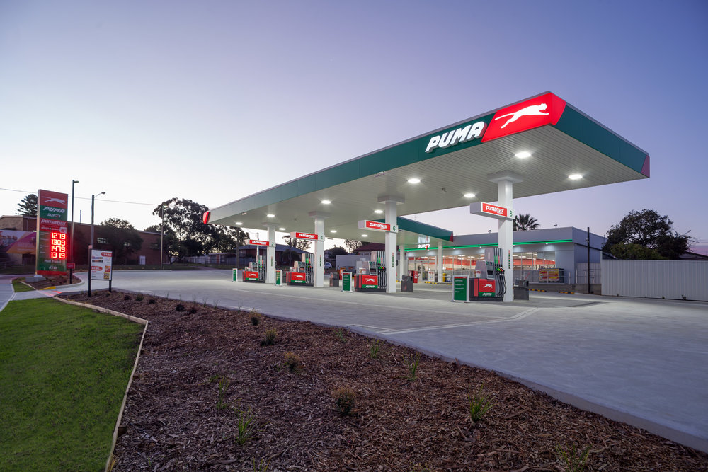 Bentleigh Group signs Puma petroleum branding signage branding case study