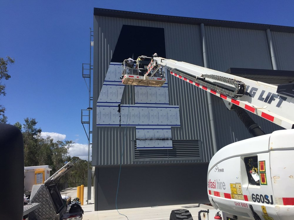 Bentleigh Group Australia Benclad   aluminium composite (ACM) cladding signs