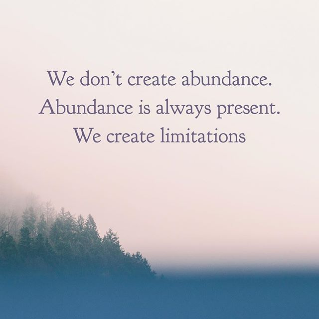 I love this! ⁣thank @kateshealthycupboard for this reminder ⁣ This is so true abundance is everywhere!  Whether or not you can see and feel it is just based on off of your perception. A simple shift in mindset can change your world. ⁣ ⁣ What limitations are you putting on yourself? How will you overcome them today and see the abundance in your life?⁣ ⁣ Today I am going to be extra aware of my mindset and I am going to put my focus on all the things that are going right 💖🥰⁣ ⁣ #changeyourmindsetchangeyourlife #mindset #abundance #spiritualjourney #iamenough #youareenough #limitedbeliefs #trust #universe