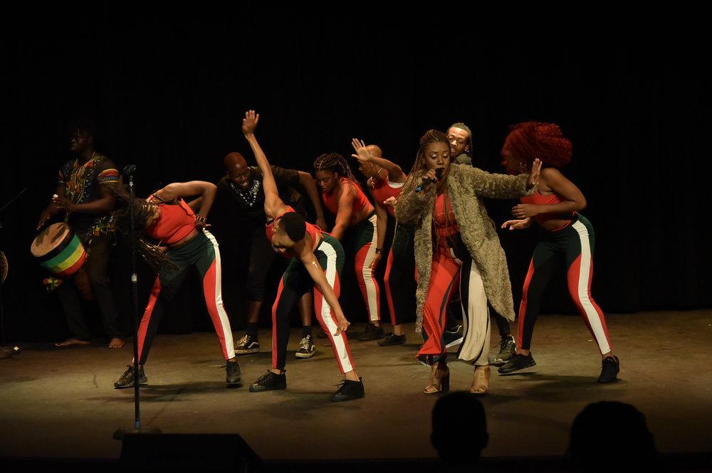 "Africa In America's 5th Annual Original Works Showcase ""For The Culture"" 2018"