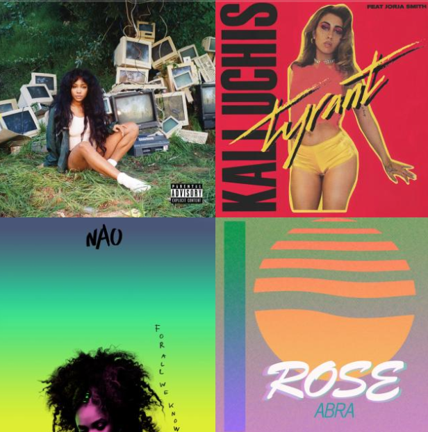 Female Stunnas - Up and coming women of color in RnB. Curated by Eleanor Mendelson.