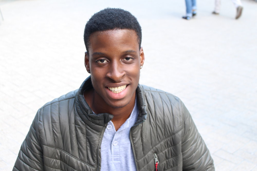 Joshua Karebo, International Studies Major