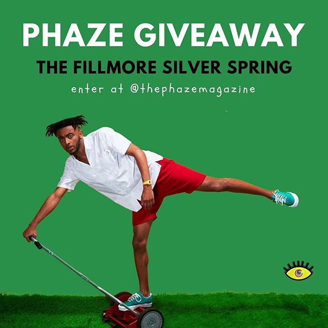 Today's the LAST day to enter our ticket giveaway for @Aminé at The Fillmore Silver Spring on November 29th!! ⏰ Did we mention that @buddy will be there too? The winner will receive TWO tickets, so make sure to tell your friends in the D.C., Maryland and Virginia areas 🌟... Here's How To Enter: ———————— 🔥 Comment below with the name of someone or something that you are thankful for 🔥 Use the hashtag #PHAZEGiving in your comment 🔥 Must be following us on Instagram @thephazemagazine . . . . . . . . . . . #dmv #dc #concert #phaze #fillmore #magazine #music #washingtondc #virginia #maryland #baltimore #dmvevents #giveaway #musicislife #hiphop #rnb #entertowin #comment #like #musician #pop #singer #rapper #livemusic #photooftheday #free #partnership #photography