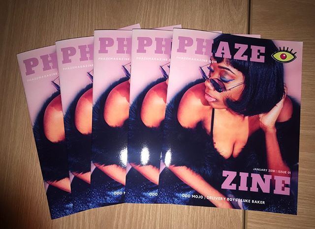 Why not support an independent magazine this Cyber Monday? 🌟 Visit the PHAZE SHOP to get the last few PHAZE ZINE: Issue 01s in print! Digital copies are also available! #PHAZEShop link in our bio! 🏃🏽♀️ . . . . . . . . . . #phaze #magazine #printmagazine #zine #print #digital #independent #blackfriday #sales #cybermonday #shop #onlineshopping #artists #music #art #photography #design #collage #concert #dc #newyork #international