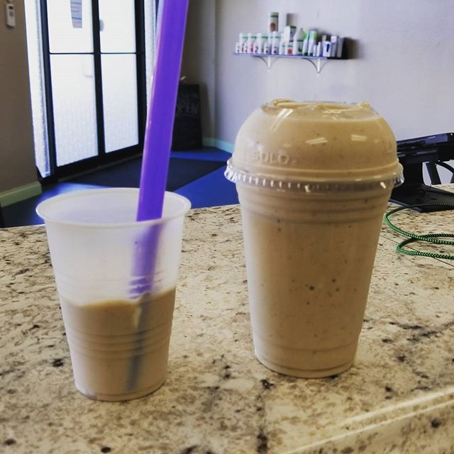 How about having a Kahlua and Cream flavored shake for breakfast? Stop in today to get yours. Add a scoop of Prolessa to it for that extra appetite suppressant. And it's  under 300 calories!!! Stop in to see what else we have to offer!!