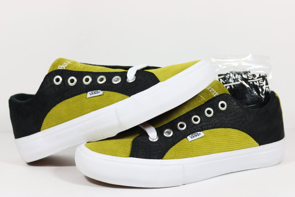 89be1955a34d US 8.0 - SUPREME X VANS LAMPIN PRO YELLOW