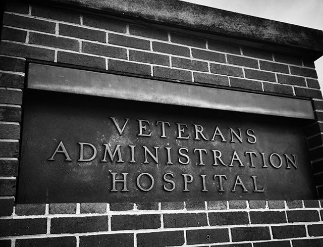 Visiting VAMC for the first time today ❤️💪🇺🇸