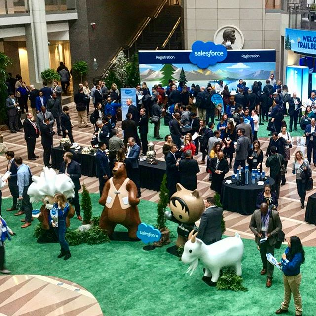 Had a blast at the #SalesforceTour in DC this week! Check out what we learned through the link in our bio. 💪🏛🇺🇸