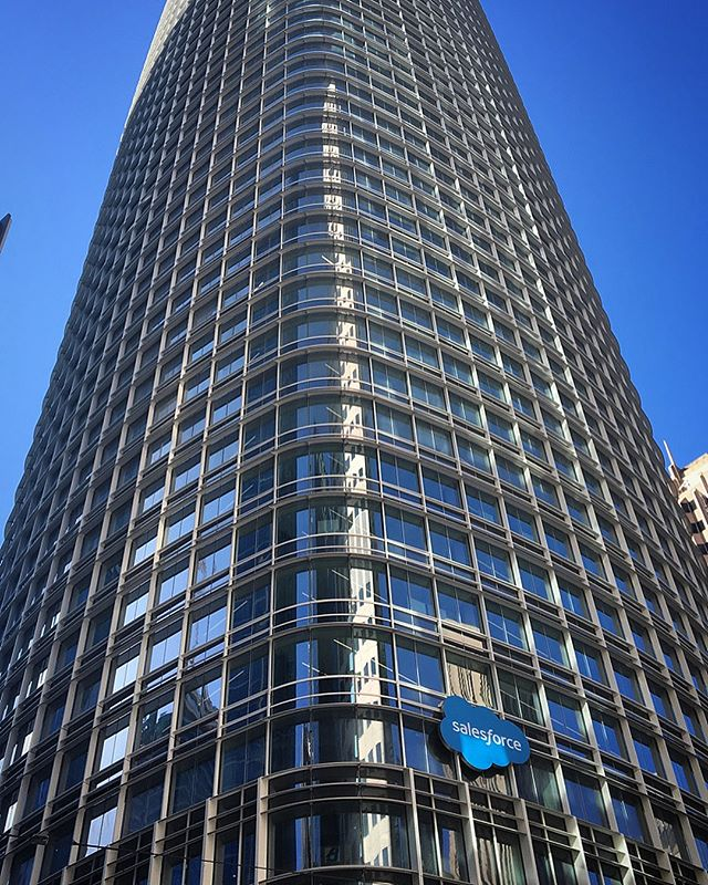 Had a blast talking Digital Transformation for Public Sector today for the Leading Edge video series at Salesforce sponsored by Acumen Solutions and SpringCM. The tour of the new Salesforce Tower was great too!  Check out the video: https://sfdc.co/IePoi #Salesforce #SalesforceTower