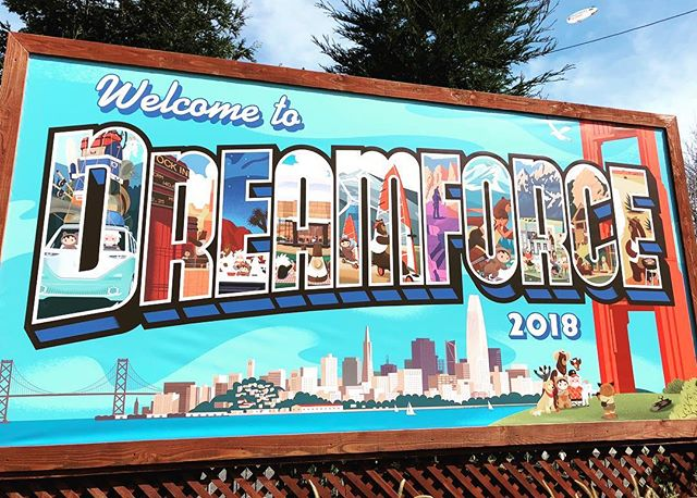 Dreamforce '18 is fully underway! Excited to catch up with the Public Sector Ohana and see some exciting new @salesforce tech! #DF18