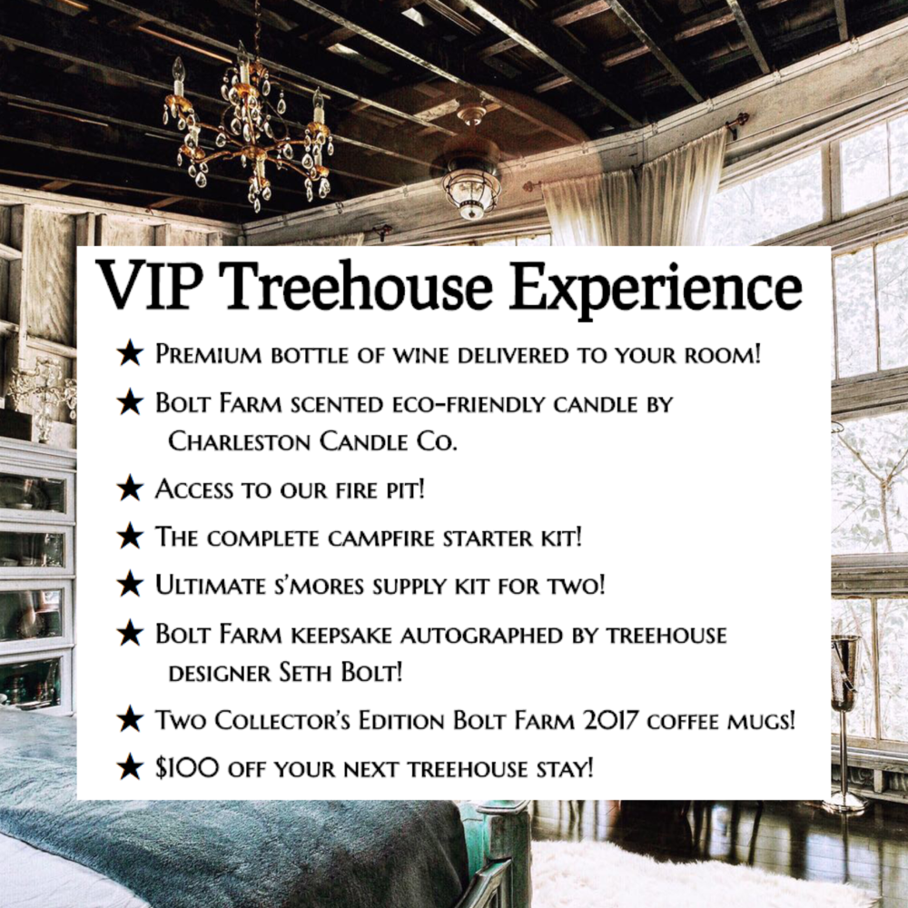VIP Treehouse Experience