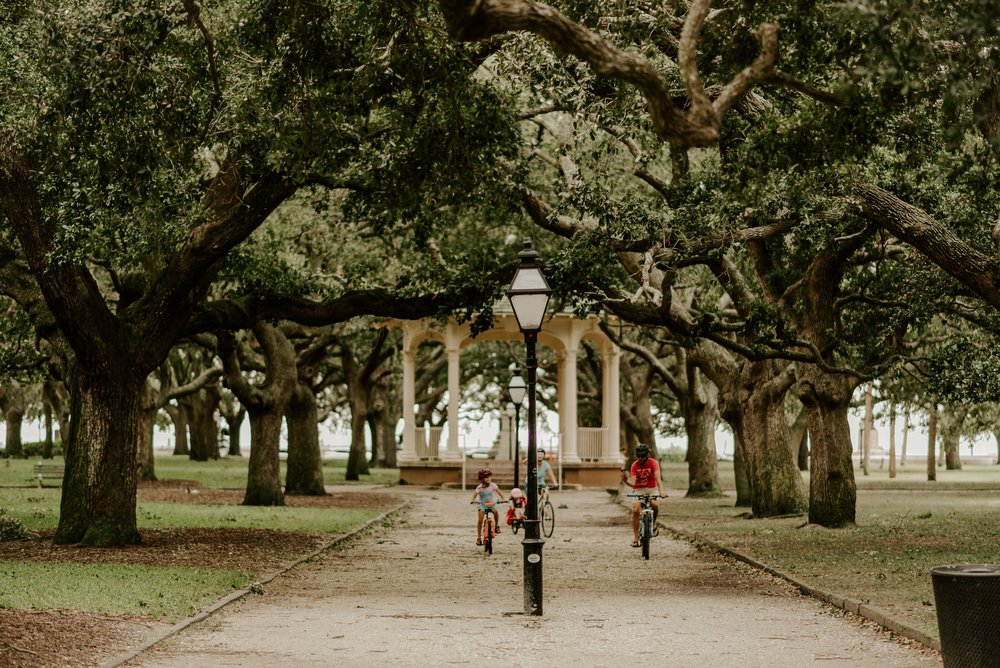 Battery Park, Downtown Charleston